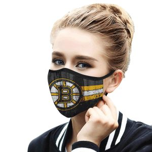 Boston Bruins hockey Face Mask Antibacterial Fabric 2