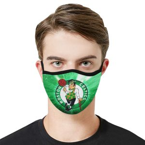 Boston Celtics Face Mask 1