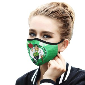 Boston Celtics Face Mask 2